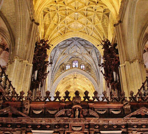 Rincón interior de la Catedral de Sevilla