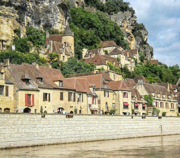 La Roque Gageac en Perigord en Perigord en Francia