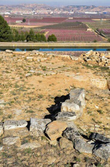 Yacimiento de Genó de la Edad de Bronce en Aitona en Lleida