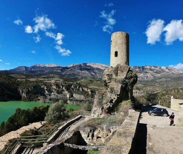 Baronía de Sant Oisme en la provincia de Lleida