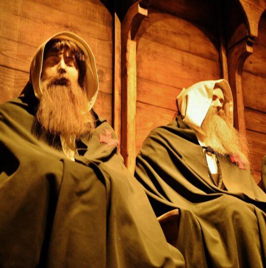 Presentación multimedia en castillo templario de Gardeny en Lleida