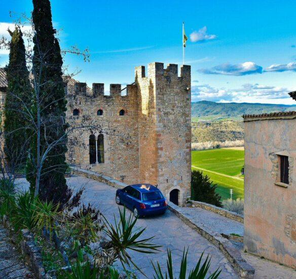 Castillo de Montsonís en la provincia de Lleida