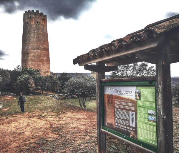 Torre de Vallferosa en Lleida en Cataluña
