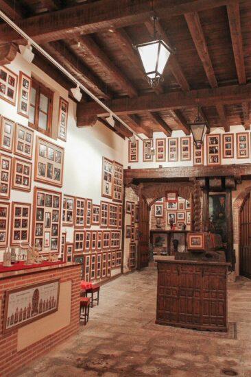 Antiguo lagar de Bodegas Mocén en Rueda en Valladolid