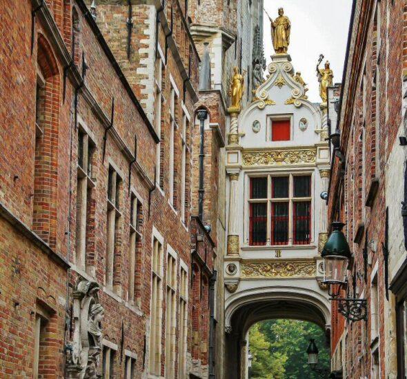 Rincón de Brujas en Bélgica