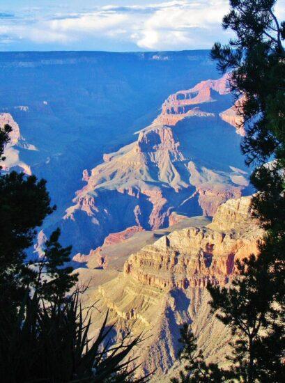Gran Cañón del Colorado en el oeste de Estados Unidos