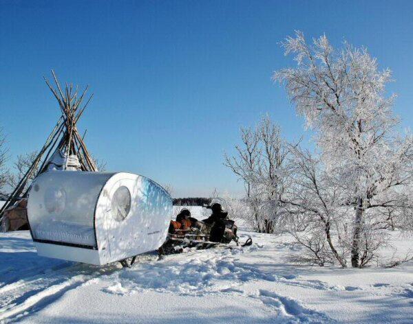 Excursión en Kemi en Laponia Finlandia