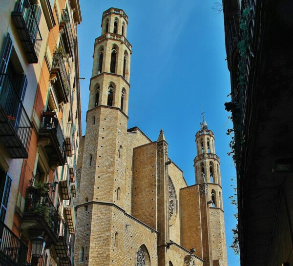 Catedral del Mar en Barcelona