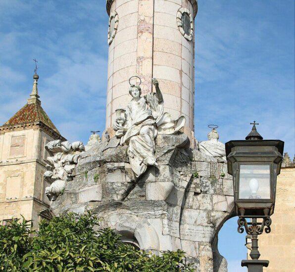 Triunfo de San Rafael en Córdoba