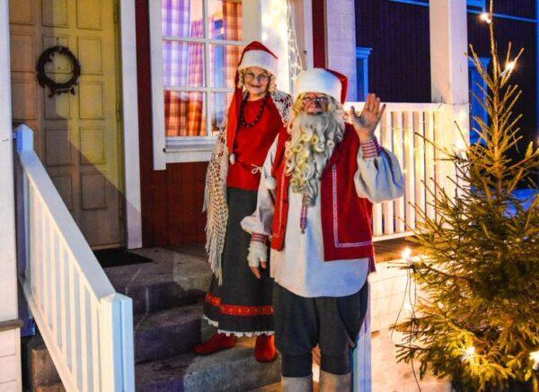 Papa Noel en Kuusamo