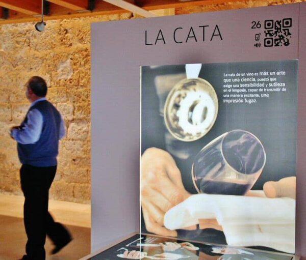 Museo del Vino en el castillo de Peñafiel en Valladolid