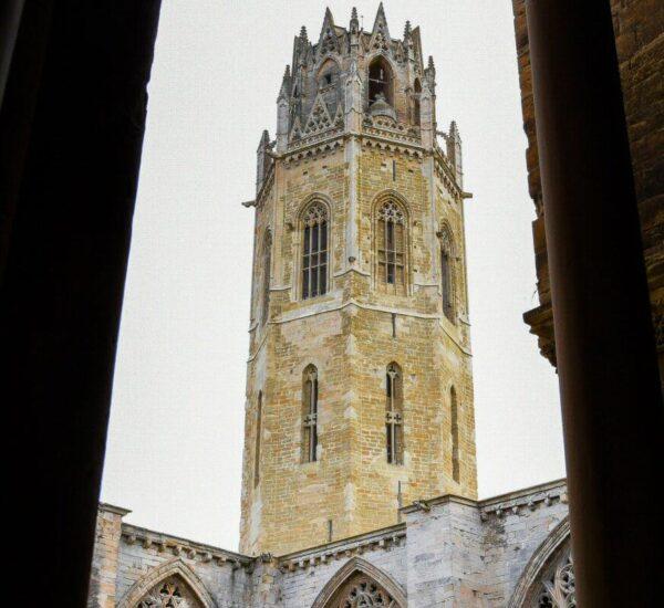 Torre campanario de la Seu Vella de Lleida