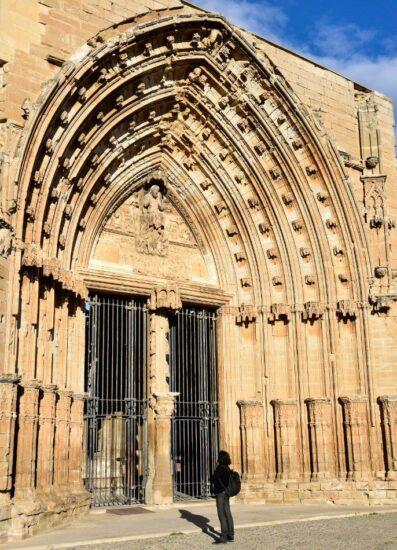 Puerta de los Apóstoles en la Seu Vella de Lleida