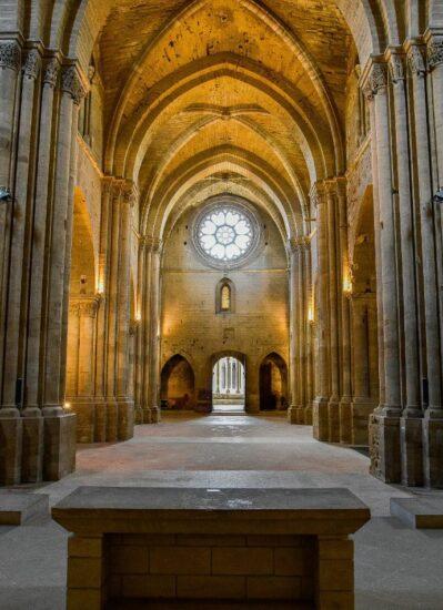 Nave central de la Seu Vella de Lleida