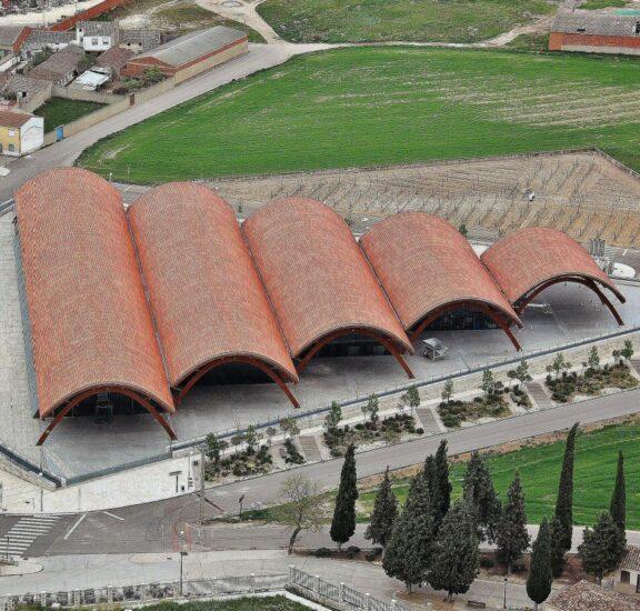 Bodega Protos en la Ribera del Duero en Valladolid