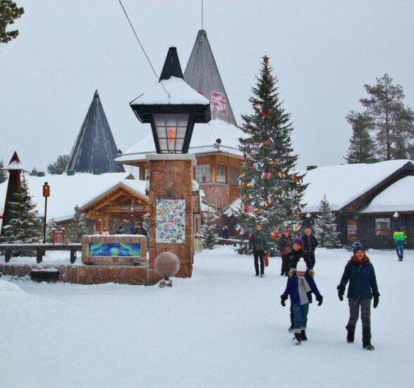 Santa Claus Village en Rovaniemi
