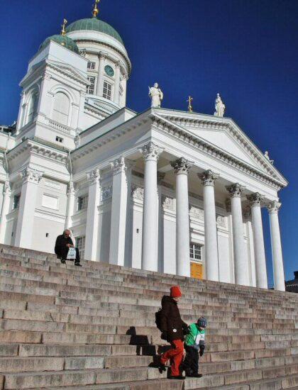 Catedral de Helsinki en Finlancia