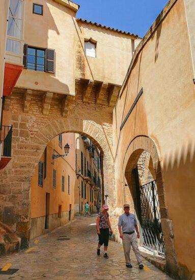 Rincón del centro histórico de Palma de Mallorca
