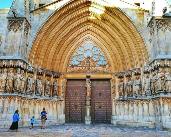 Portada de la catedral de Tarragona
