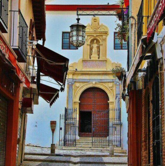 Rincón del Albaicín en Granada