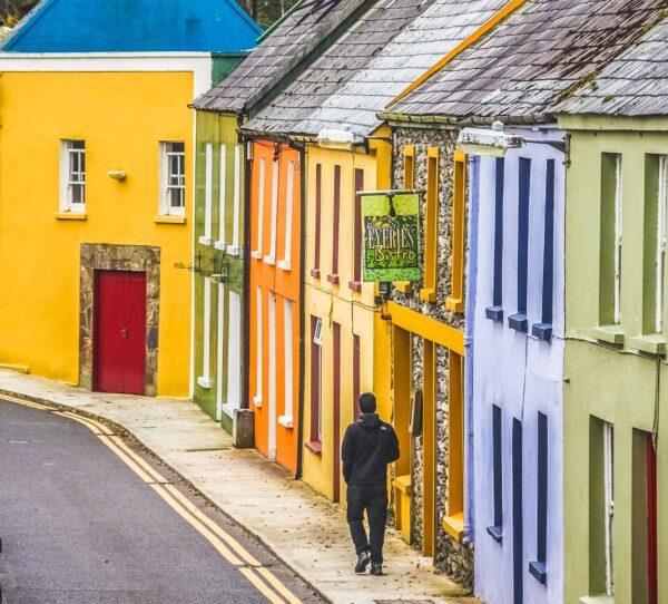 Eyeries, pueblo bonito al sur de Irlanda
