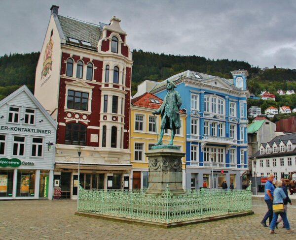 Rincón del centro de Bergen