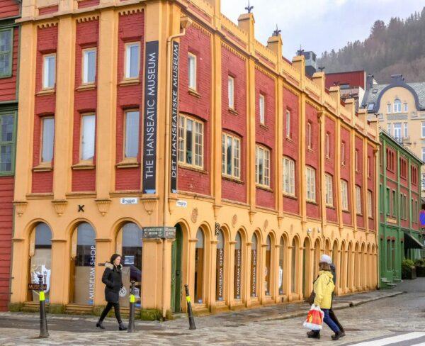 Museo Hanseático en Bryggen en Bergen
