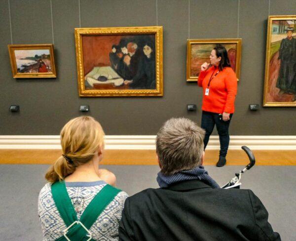 Obras de Munch en el museo Kode en Bergen
