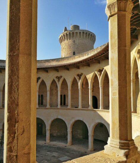 Castillo de Bellver en Palma