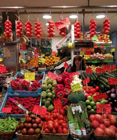 Mercado El Olivar de Palma en Mallorca