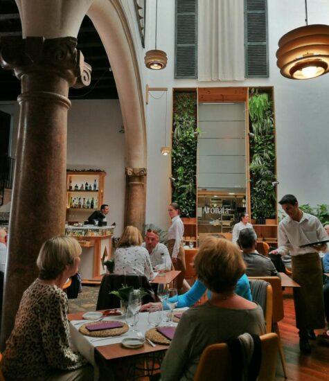 Restaurante Amotata en Palma en Mallorca