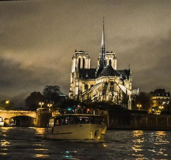 Crucero por el río Sena en París