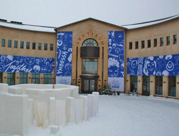 Museo Arktikum en Rovaniemi en Laponia de Finlandia