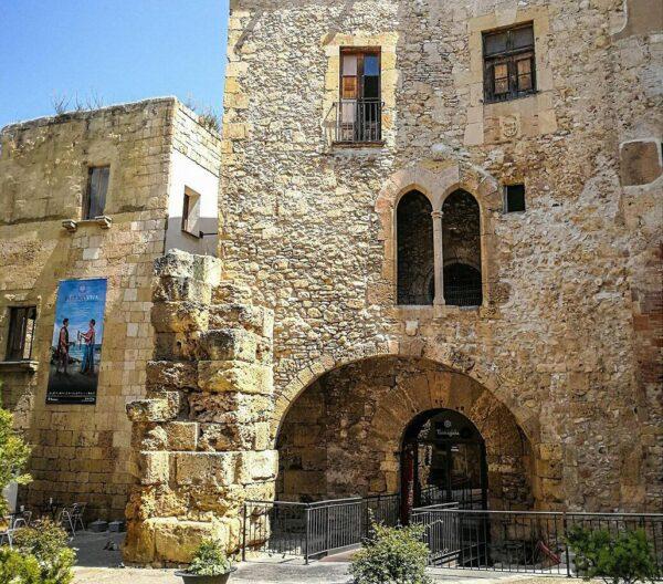 Rincón de la plaza de Pallol en Tarragona