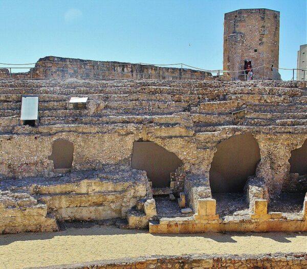Restos del circo romano de Tarragona