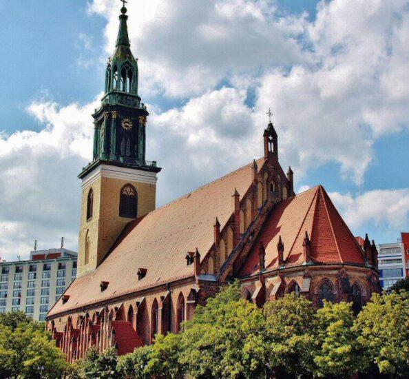 Iglesia Marienkirche en Berlín
