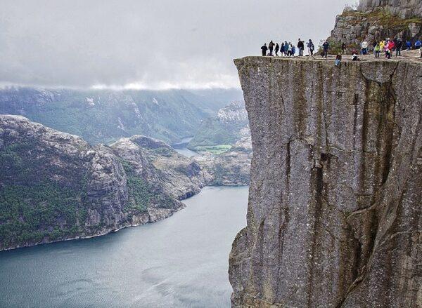 El Púlpito en los Fiordos de Noruega