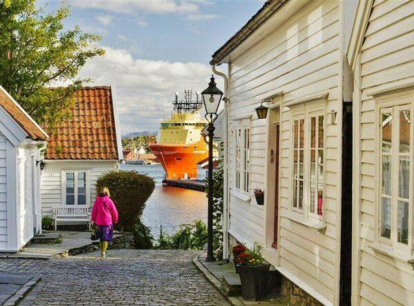 Stavanger en los Fiordos de Noruega