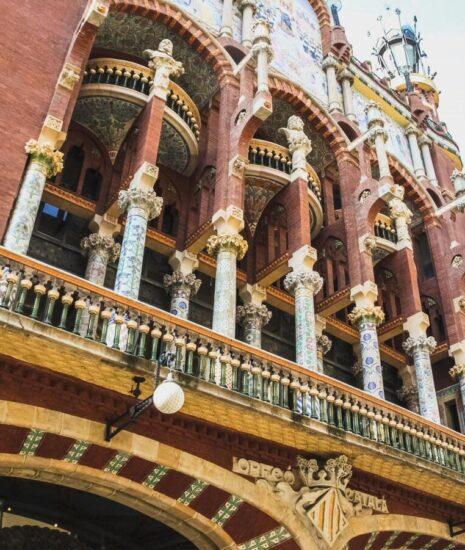 Palau de la Música Catalana en Barcelona