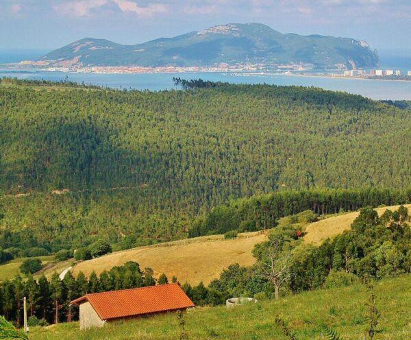 Vistas de Santoña en Cantabria