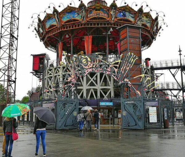 Carrusel de los Mundos Marinos en Las Máquinas de la Isla de Nantes
