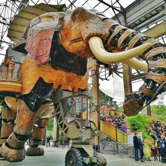 Gran Elefante de Las Máquinas de la Isla en Nantes