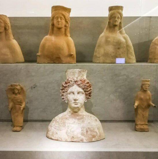 Museo en la necrópolis de Puig des Molins en Ibiza