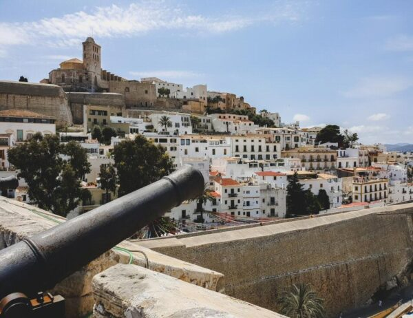 Centro histórico Dalt Vila en la ciudad de Ibiza