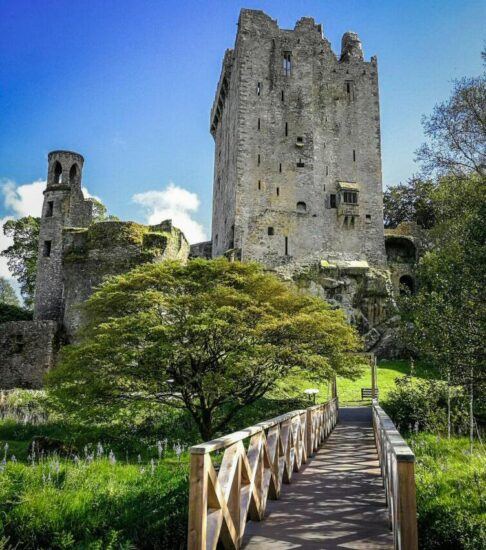 Castillo de Blarney cerca de Cork al sur de Irlanda
