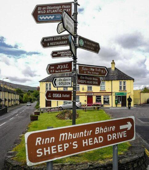 Península de Sheep´s Head cerca de Cork al sur de Irlanda