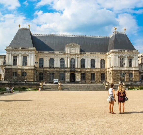 Parlamento de Bretaña en Rennes en Bretaña Francia