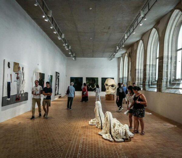 Colección Pinault en Convento de Jacobinos de Rennes