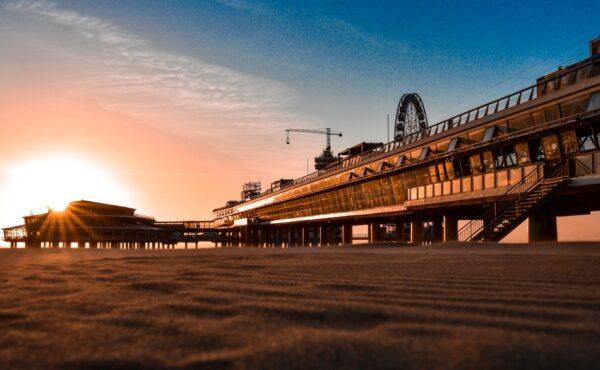 Pier La Haya en Holanda