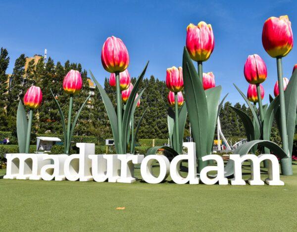 Madurodam junto al Bosque Scheveningse en La Haya